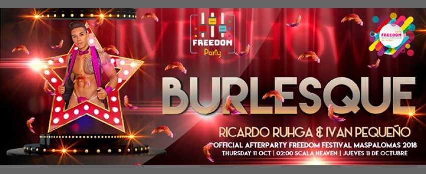 "Freedom Party ""Burlesque"" - Official Afterparty - FFM 2018"