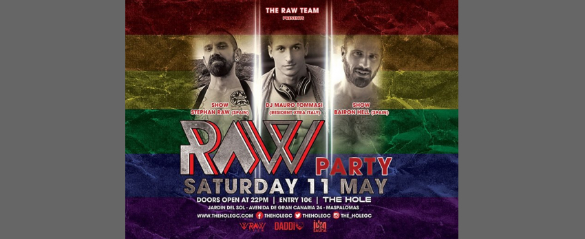 Raw Party - Gay Pride Maspalomas 2019