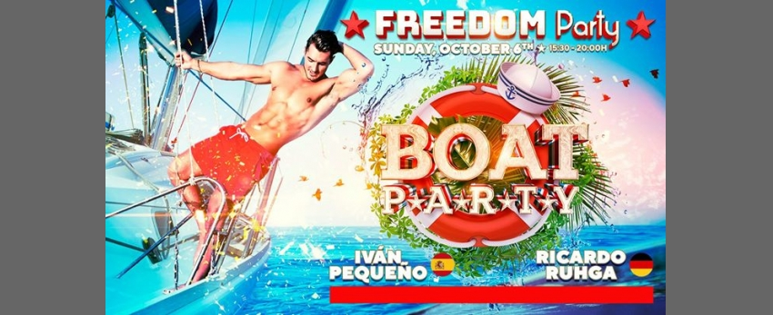 Freedom Vip Boat Party - Official Event FFM 2019