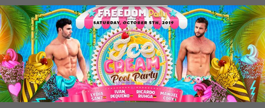 "Freedom Party ""Ice Cream Pool Party""- Official Event FFM 2019"