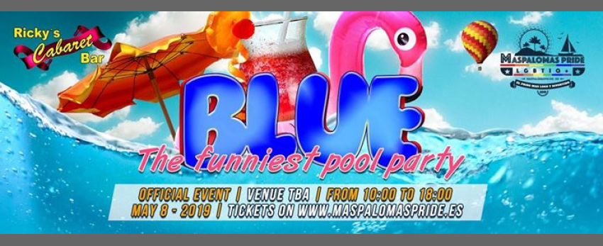 Blue Pool Party Ricky's - Official Event Maspalomas Pride 2019