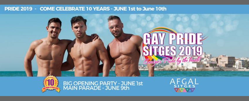 Sitges Pride 2019 - 10th Edition