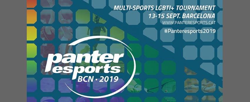 Panteresports 2019. Torneig esportiu lgtbi+. 13-15 Setembre 2019