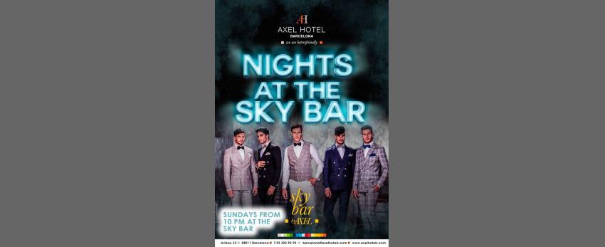Nights at the Sky Bar!