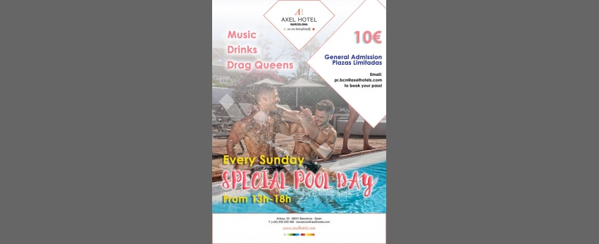 Special Pool Day! Every Sunday!