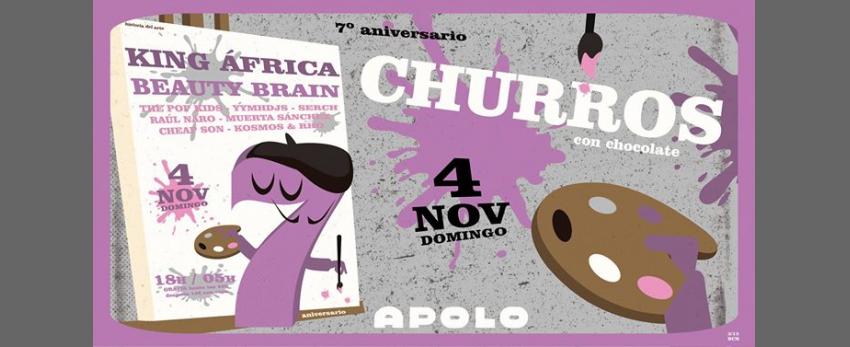 Churros con Chocolate BCN - HDA - 7º Aniversario