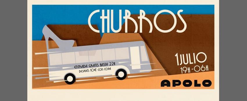Churros con Chocolate BCN - Priscilla, Reina del Desierto