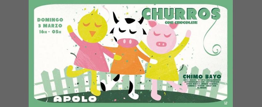 Churros con Chocolate BCN - Carnaval en la granja