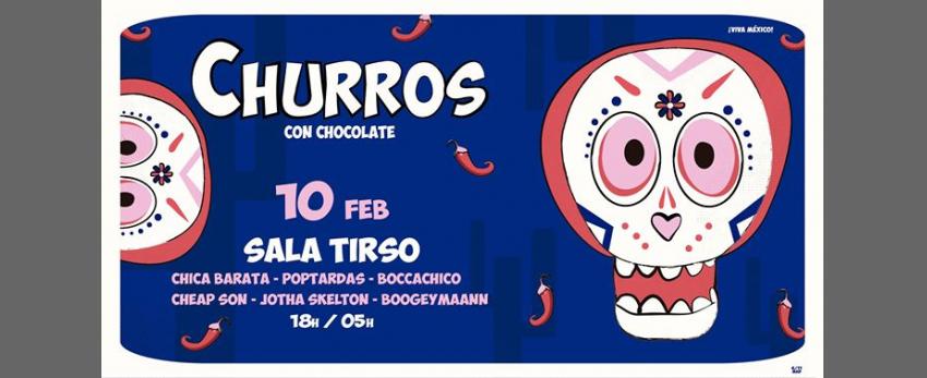 Churros con Chocolate MAD - Viva México!