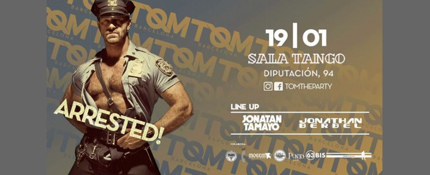 TOM Barcelona · Arrested!