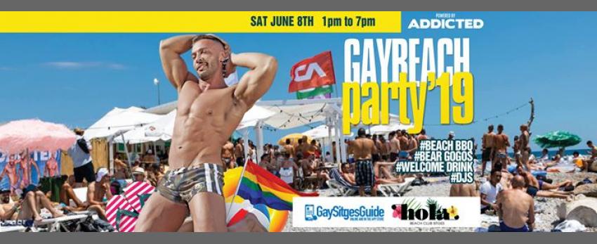 Gay Beach Party at Hola Beach