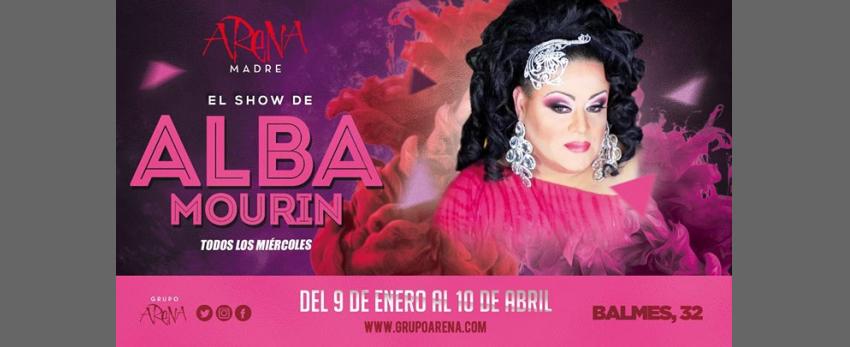 Miércoles de Show con Alba Mourin en Arena Madre
