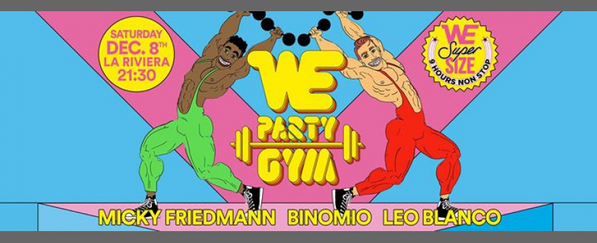 WE Party Gym, 9th Anniversary