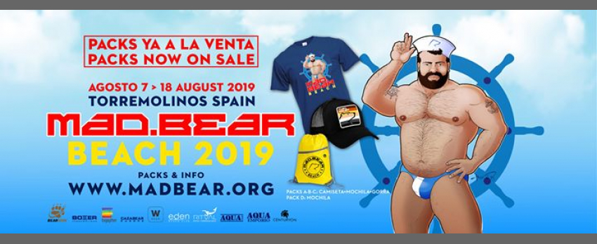 Mad.Bear Beach 2019 · Torremolinos · Spain