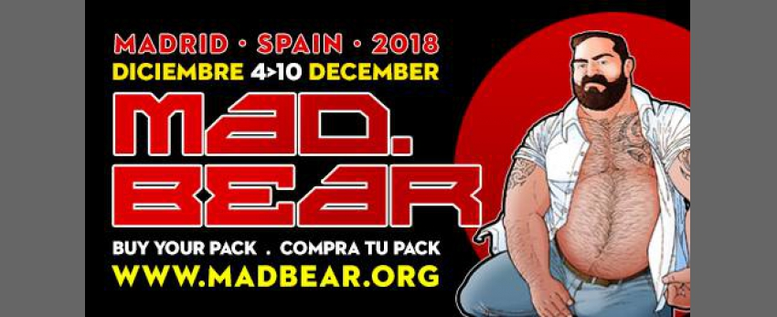 Mad.bear Madrid 2018