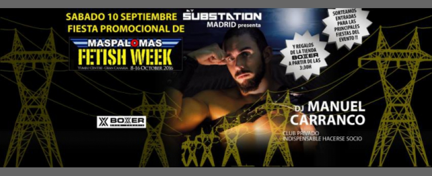 PreParty Maspalomas Fetish Week 2016