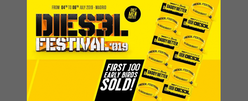 Dies3l Festival - From 4th to 6th July 2019 - Madrid Pride