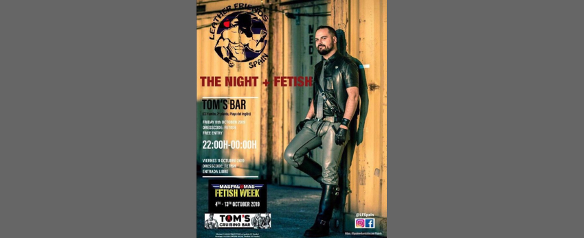 Fetish night LFSpain Maspalomas