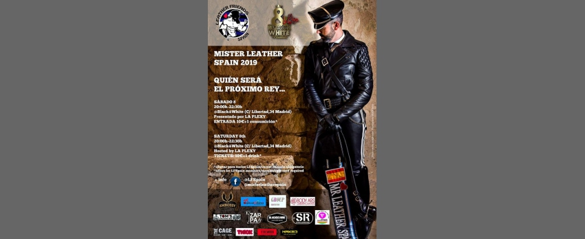 Mr Leather Spain 2019