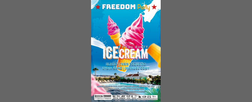 FREEDOM Party - Ice Cream Pool Party - Maspalomas Pride 2019