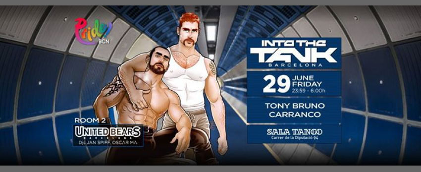 Into The Tank Barcelona GayPride