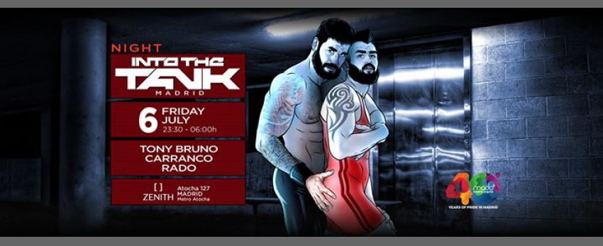 Into The Tank Night Madrid GayPride