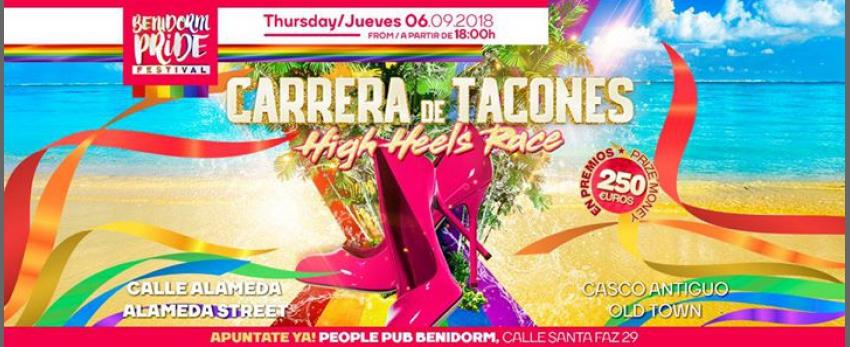 Carrera De Tacones / High Heel Race