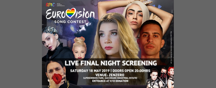 Eurovision Live Final Night Screening + After Party!