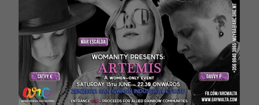 Womanity Club Night - Artemis