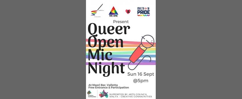 Open Mic Pride Night!