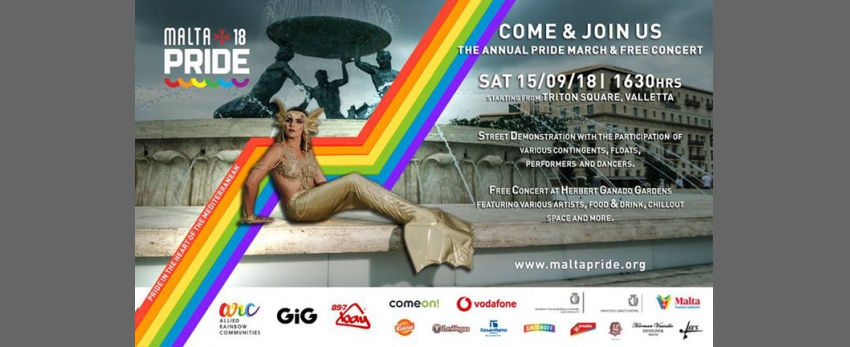 Malta Pride 2018 March & Concert