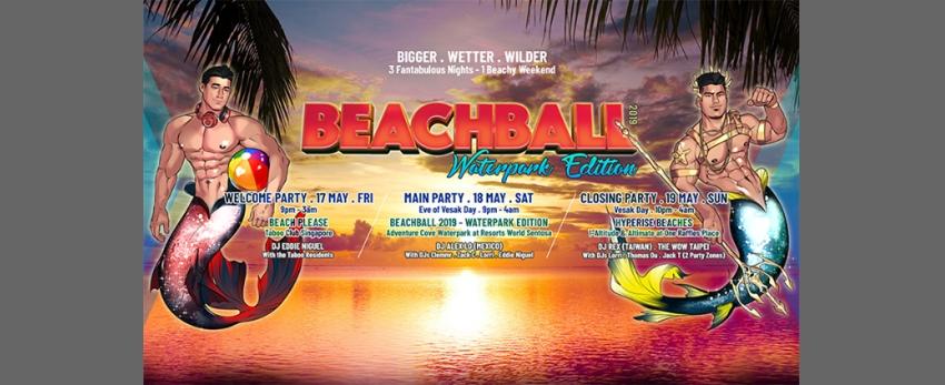 Beachball 2019 - Waterpark Edition | 18May.Sat