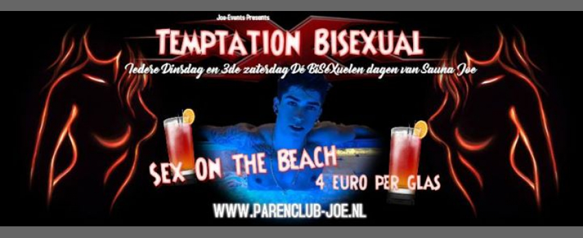 BiseXual Dinsdag in Sauna Joe