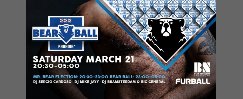 Mister Bear Netherlands 2020 Election & Bear-Ball (ABW2020)