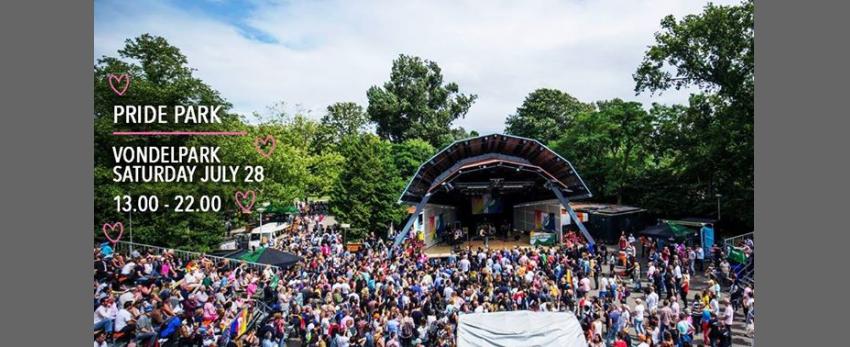 Pride Park - Opening Pride 2018 - Vondelpark