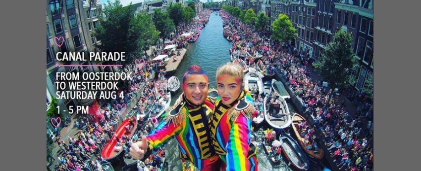 Canal Parade Amsterdam 2018