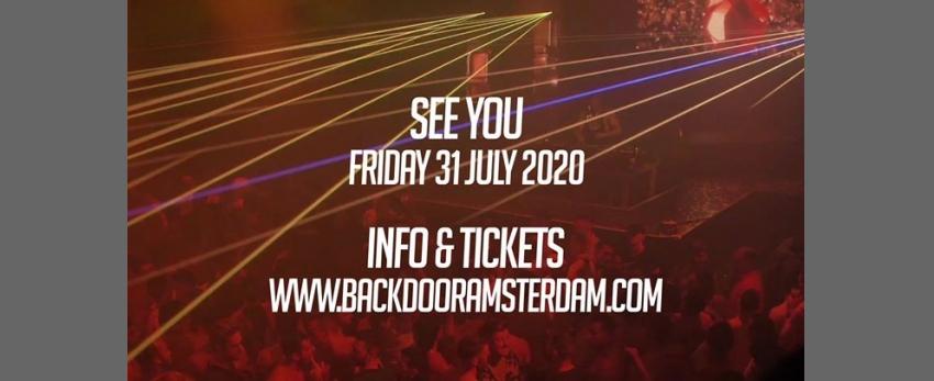 BACKDOOR Amsterdam - Massive PRIDE Edition 2020 (Share + Invite)