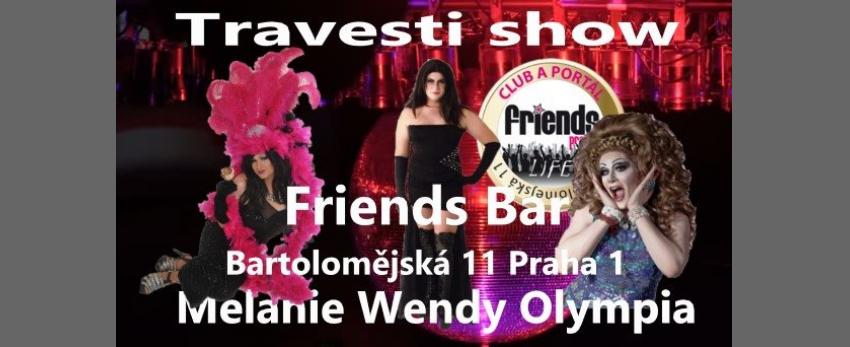 Travesti Show Melanie , Wendy a Olympia