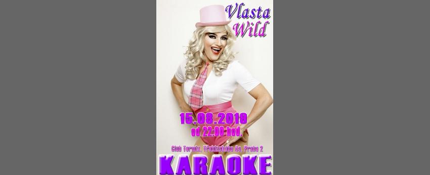 Karaoke v clubu Termix Praha s Vlastou Wild