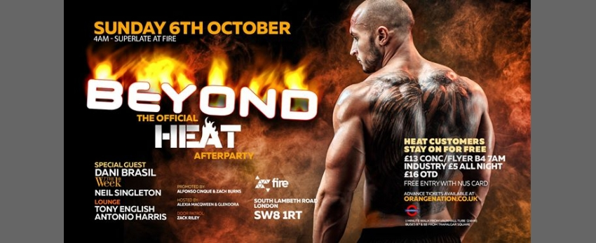 Beyond Afterhours - The Official Heat Afterparty