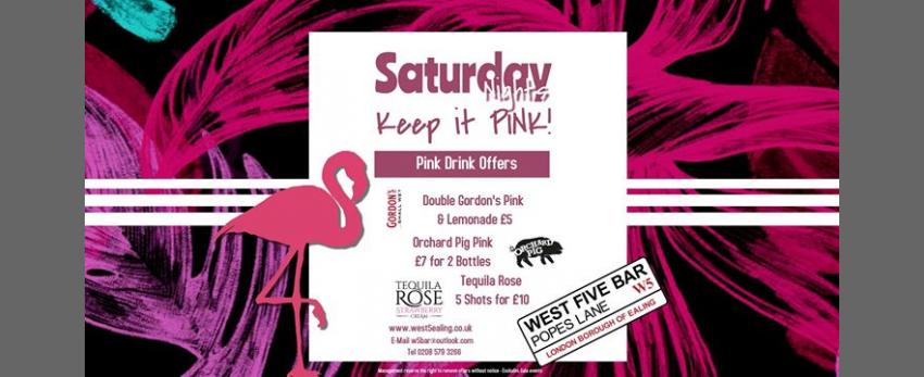 Keep it Pink! with DJ Waynie M