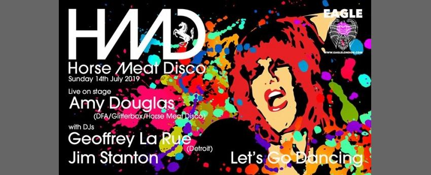 Horse Meat Disco - Amy Douglas LIVE
