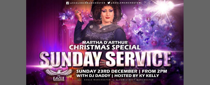 Martha D'Arthur does Christmas Sunday Service