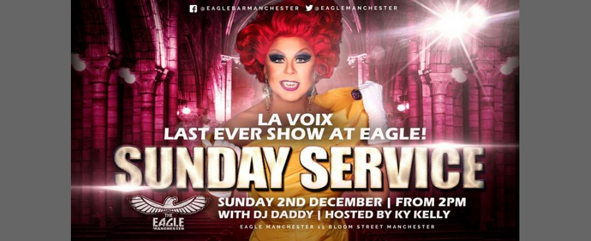 La Voix does her last ever Sunday Service