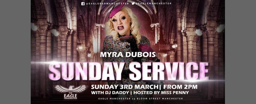 Myra DuBois does Sunday Service