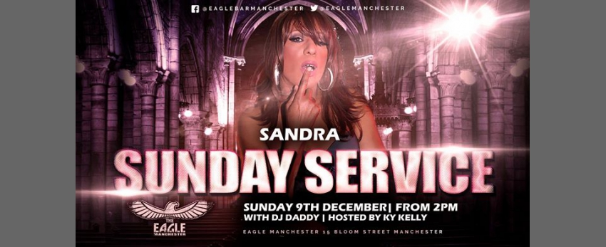 Sandra does Sunday Service