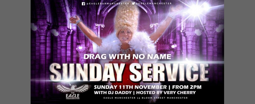 Drag With No Name does Sunday Service
