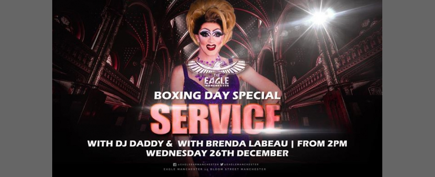 Brenda LaBeau does Boxing Day Service