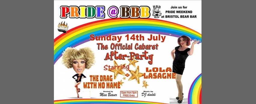 Official Pride Cabaret After Party