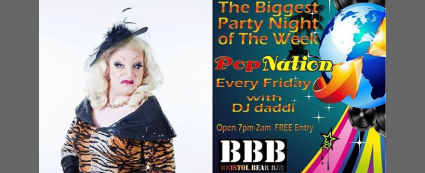 Bear Bar presents: Myra Dubois & Pop Nation